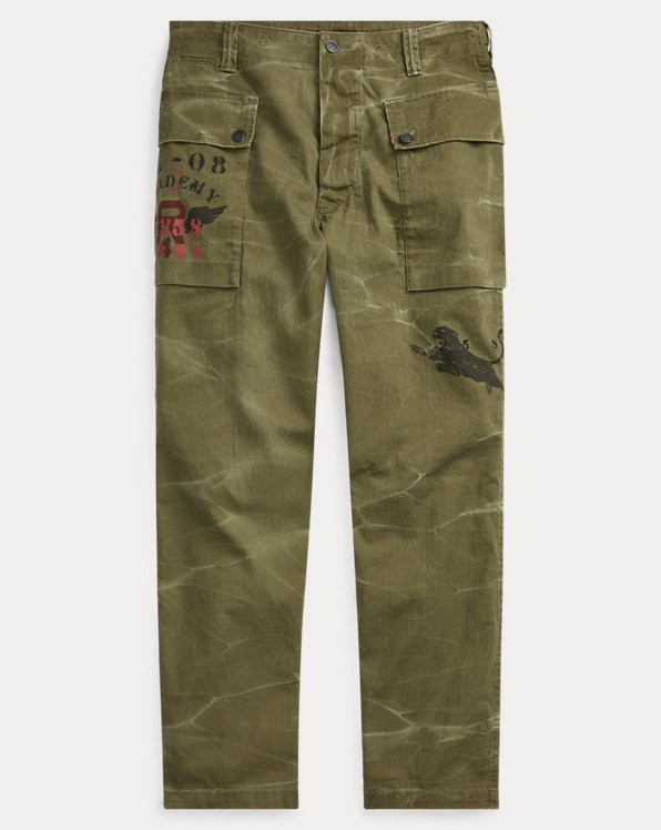 Relaxed-Fit Hose im Military-Look