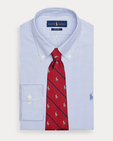 Custom Fit Hemd mit Streifen