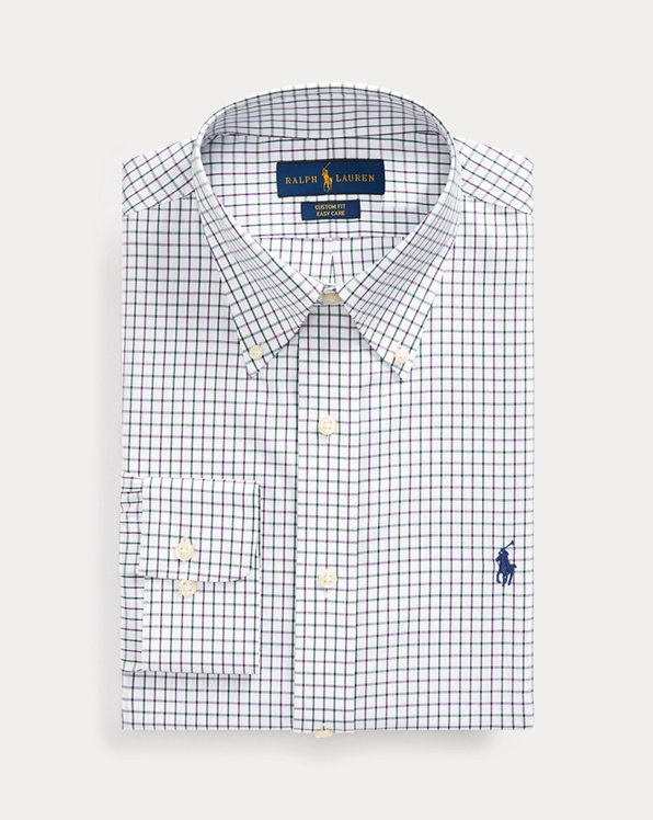 Custom Fit Tattersall Shirt