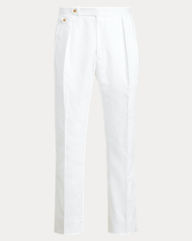 Polo Pleated Twill Trouser