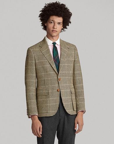 The RL67 Glen Plaid Jacket