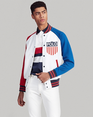 Polo Shield Baseball Jacket