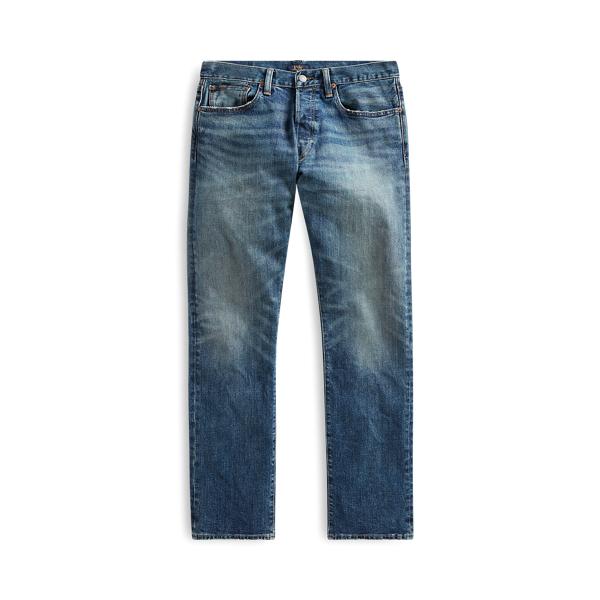 폴로 랄프로렌 Polo Ralph Lauren Varick Slim Straight Jean,Rivera Stretch