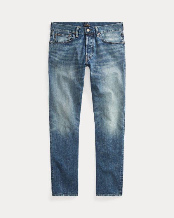 Jeans Hampton droit décontracté stretch