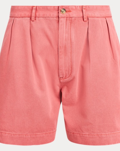 Relaxed Fit Pleated Short