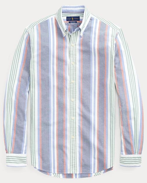weltweite Auswahl an Beste Schnäppchen für Mode Classic Fit Striped Shirt