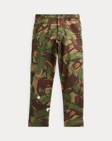 5cee5f1ce Polo Ralph Lauren. Classic Fit Embroidered Chino.  98.50. Save to your  Wishlist · Relaxed Fit Camo Pant