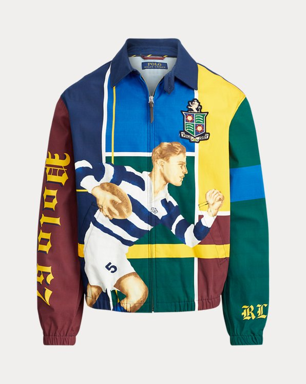 Rugby Player Bayport Jacket
