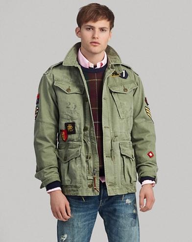 Herringbone Twill Jacket