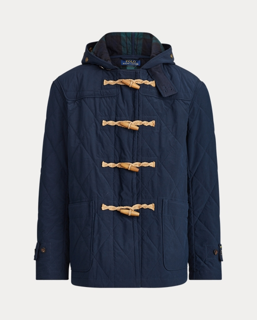 uk availability d1795 a2af2 Quilted Toggle Coat