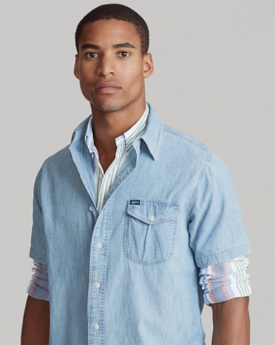 Sportsman Chambray Shirt