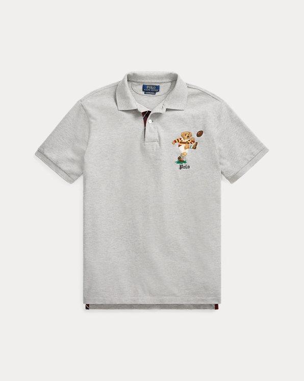 Custom Slim Fit Bear Polo