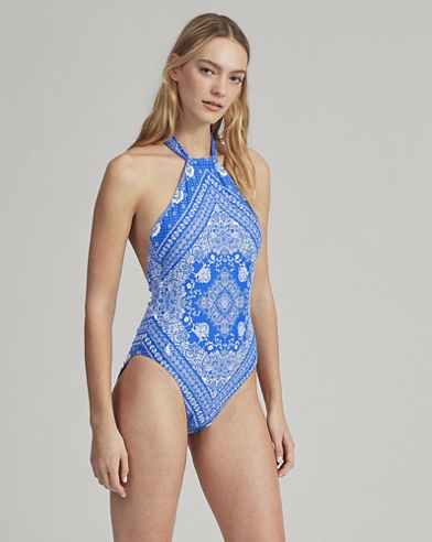 fa42951df5922 Women's Swimsuits: One-Pieces, Bikinis, & Tankinis | Ralph Lauren