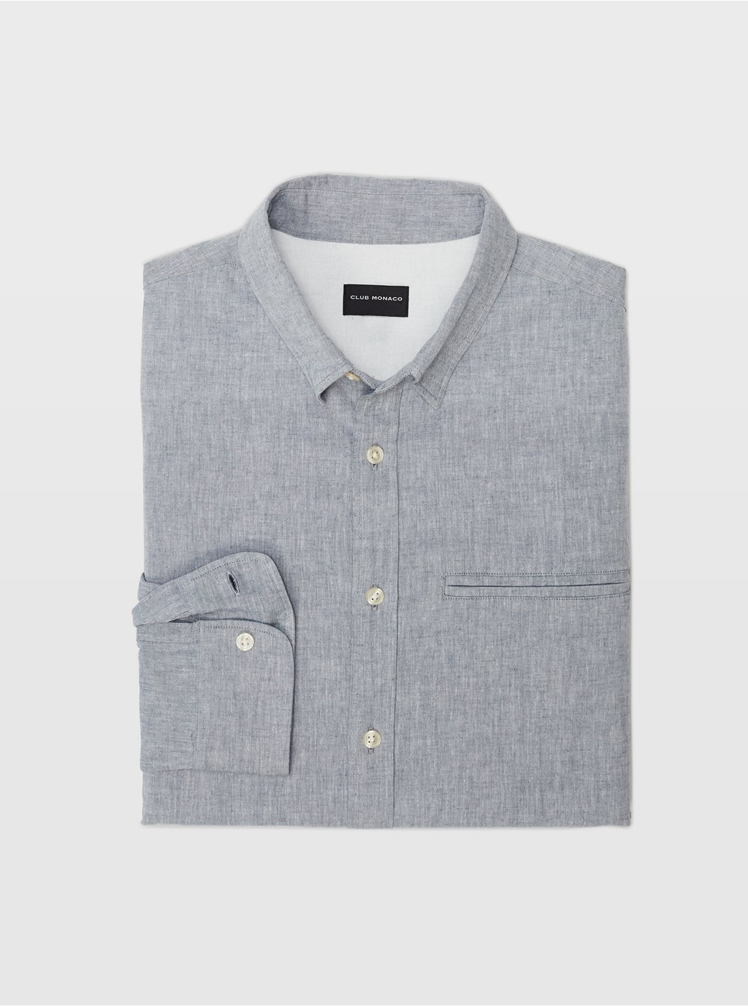 Slim Besom Pocket Shirt