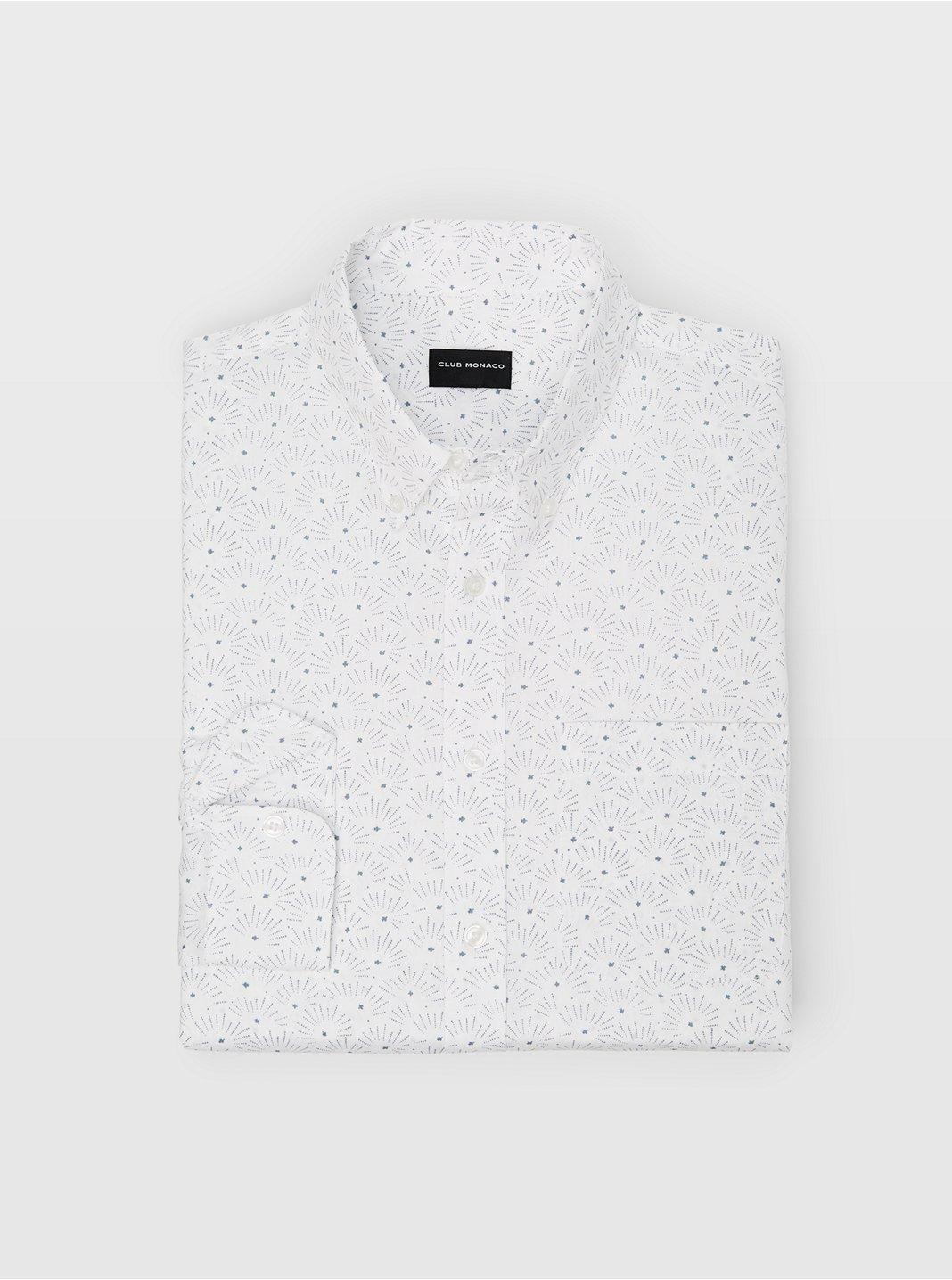 Slim Star Bright Ditsy Shirt