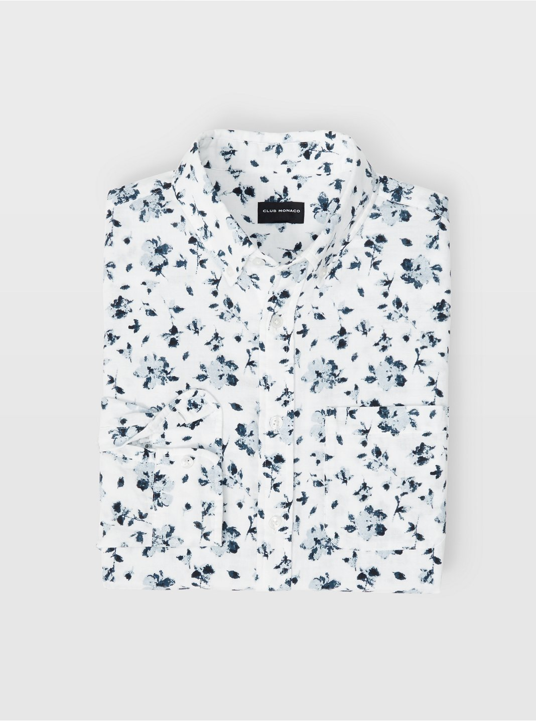 Slim Double-Faced Floral Shirt