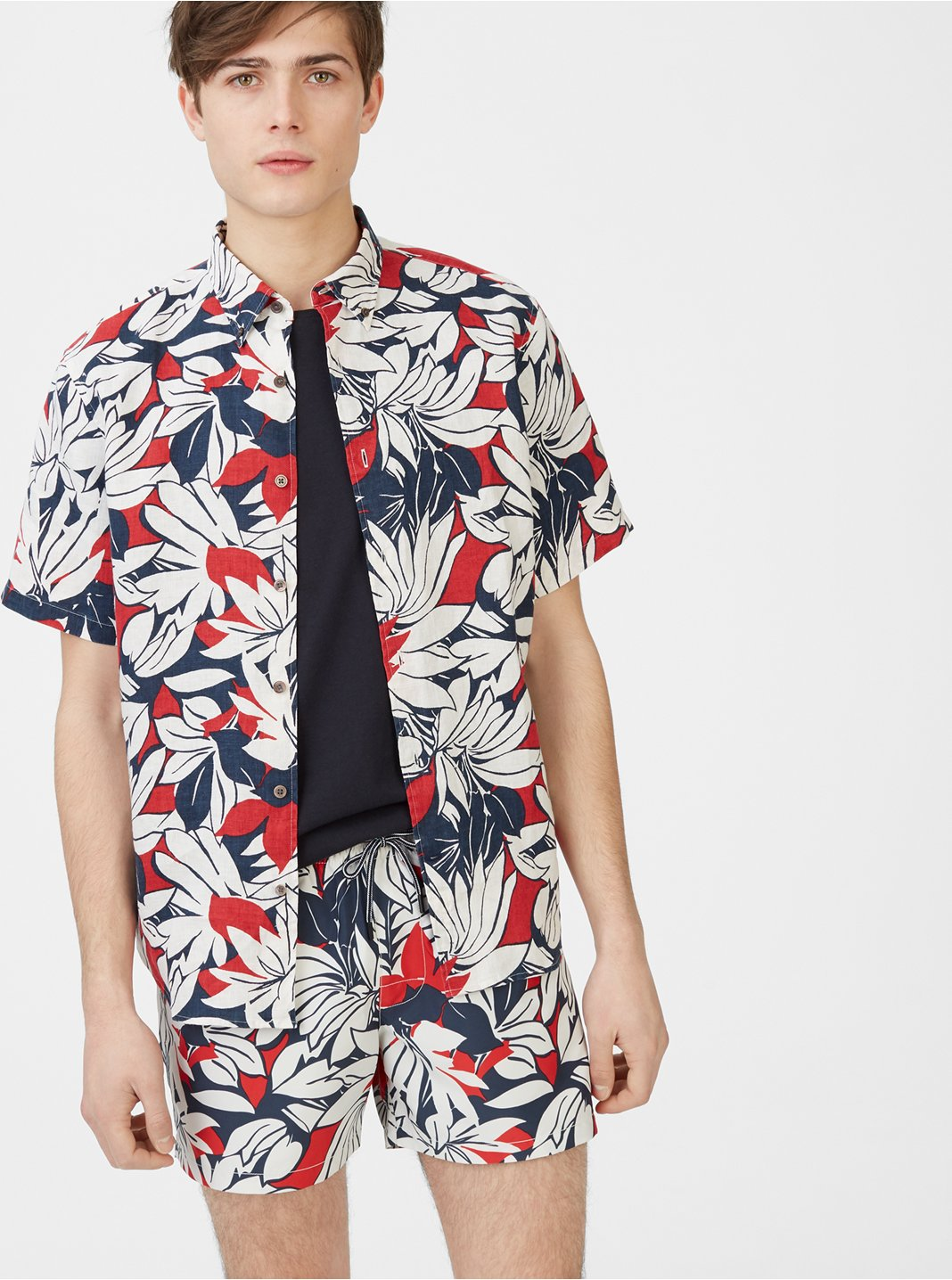 Slim Tropic Short-Sleeve Shirt