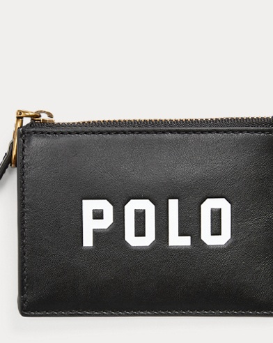 Polo Zip Card Case