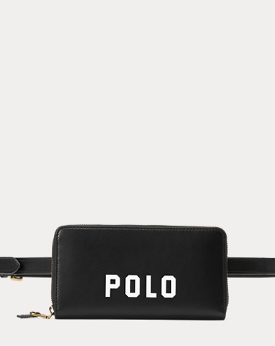 Polo Nappa Leather Belt Bag