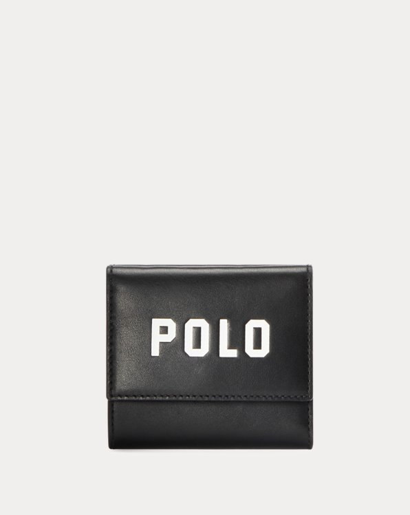 Polo Fold-Over Leather Wallet