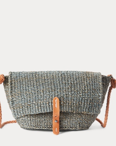 a989cd2ea155 Abaca Straw Crossbody Bag