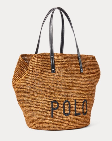 Polo Raffia Large Tote Bag. color ... df5f051db6d25