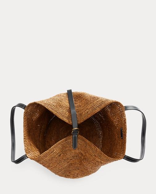 Productos buscar auténtico gran variedad de Polo Raffia Large Tote Bag