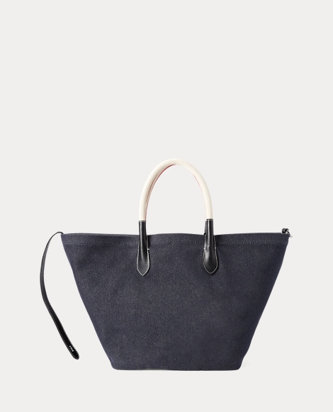 Reversible Large Canvas Tote