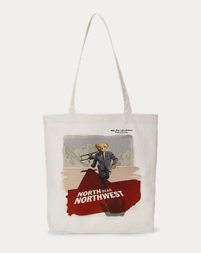 Polo Bear Film Canvas Tote Bag
