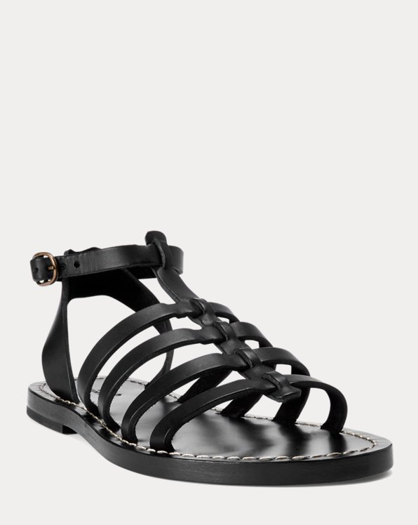 Julianne Leather Sandal