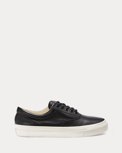 Bryn Leather Trainer