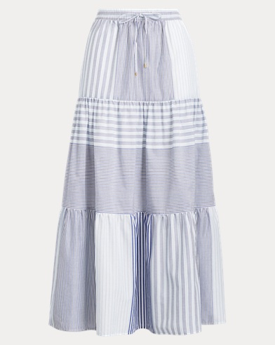 Tiered Peasant Skirt