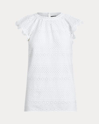 Eyelet Cotton Top