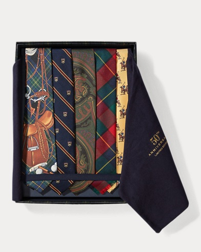 50th Anniversary Tie Set