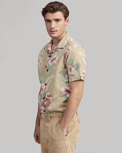 Classic-Fit Hawaiihemd