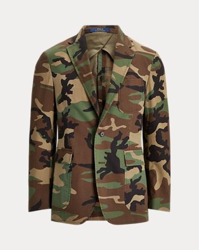 Camo Cotton Ripstop Sport Coat