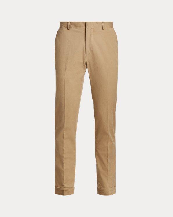 Pantalon Polo en chino stretch