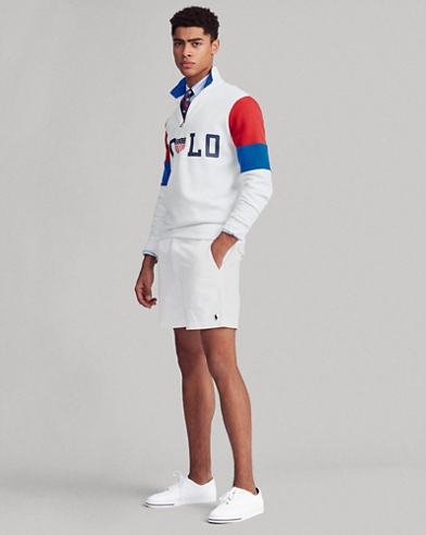 Graphic Half-Zip Pullover