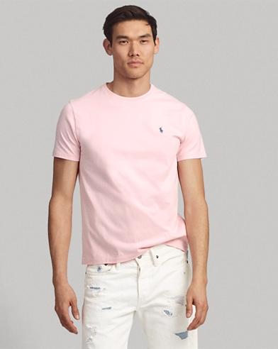 Camiseta de cuello redondo Custom Slim Fit