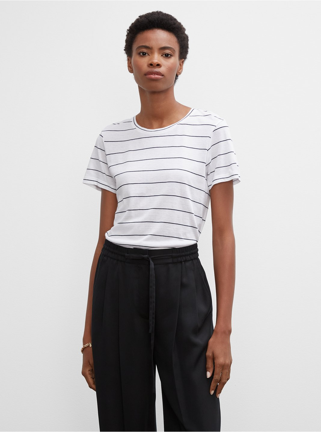 Striped Leary Tee