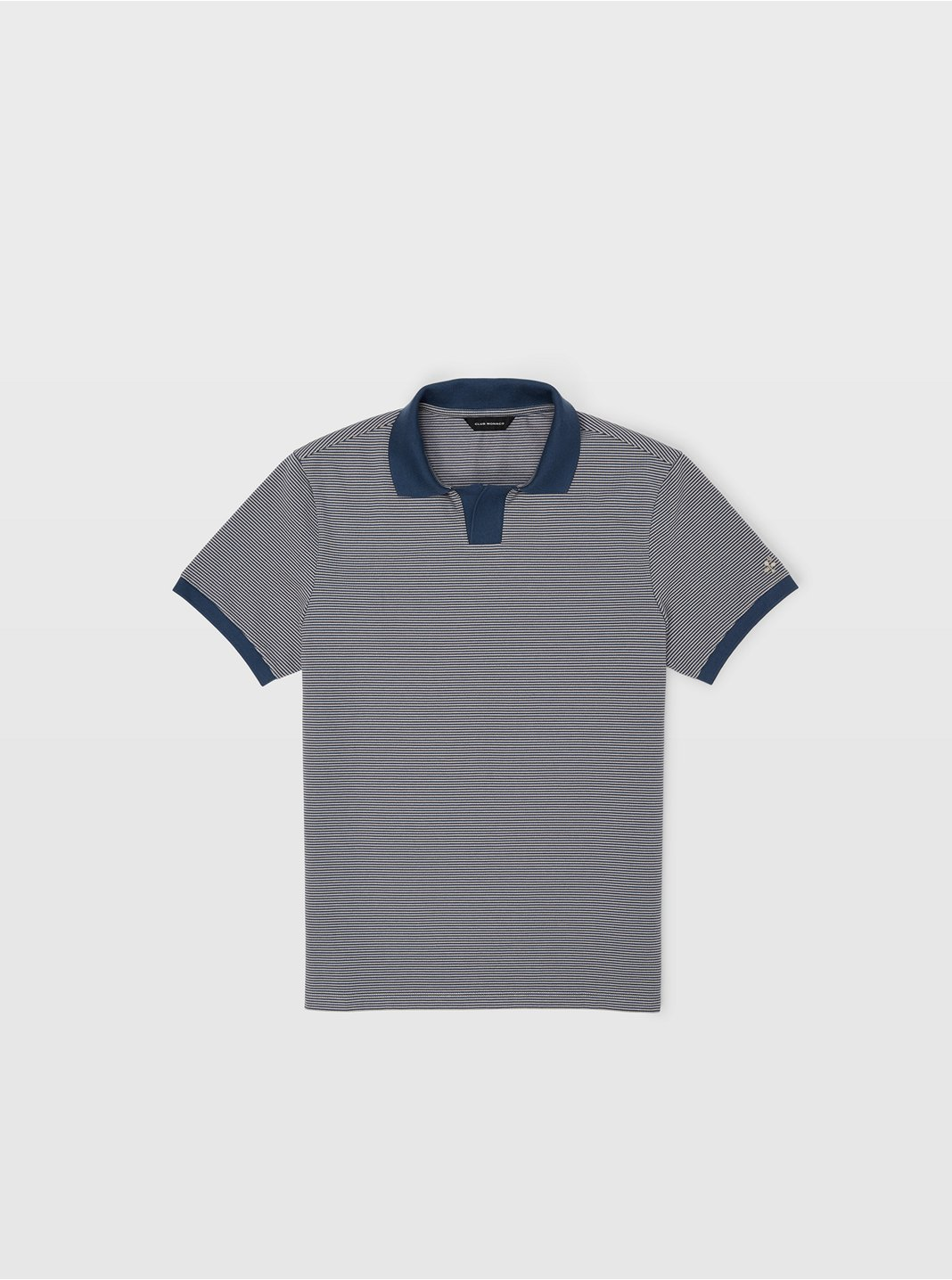 Johnny Collar Striped Polo