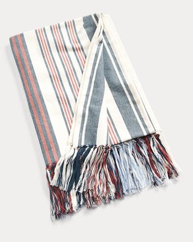 Sausalito Stripe Throw Blanket