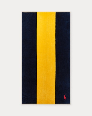 Logan Stripe Beach Towel