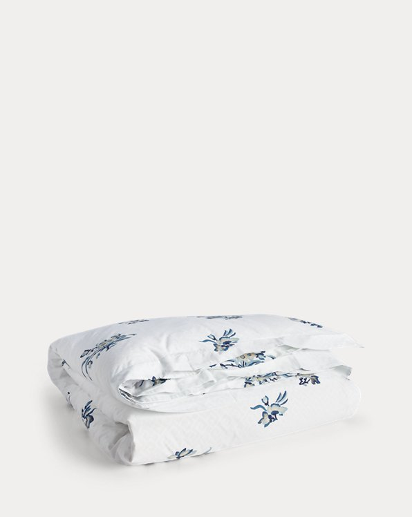 Collection linge de lit Blanc Bleu