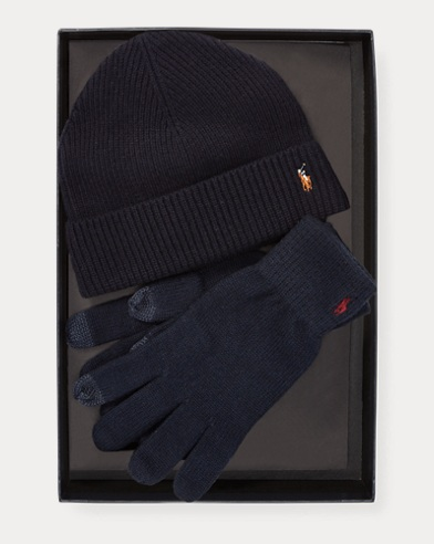 Hat & Touch Gloves Gift Set