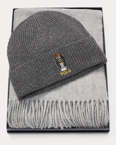 Polo Bear Hat & Scarf