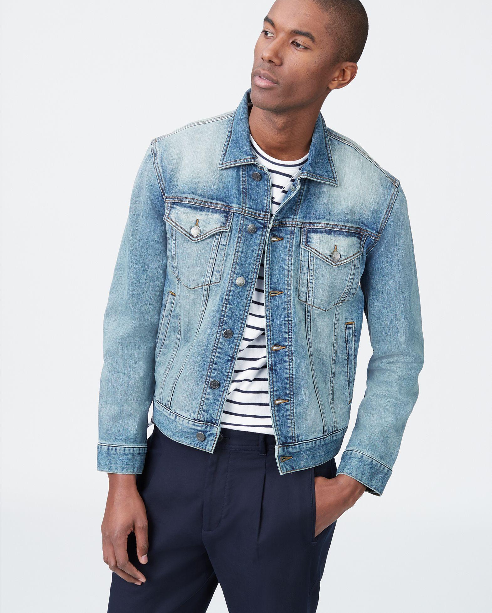 cheap sale find workmanship offer discounts Light Wash Denim Jacket