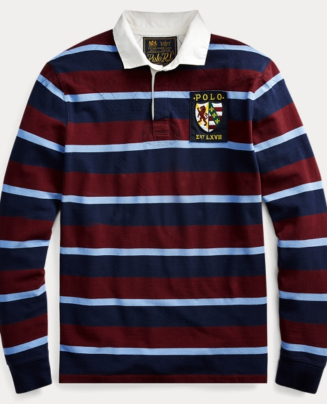 Classic Fit Cotton Mesh Rugby
