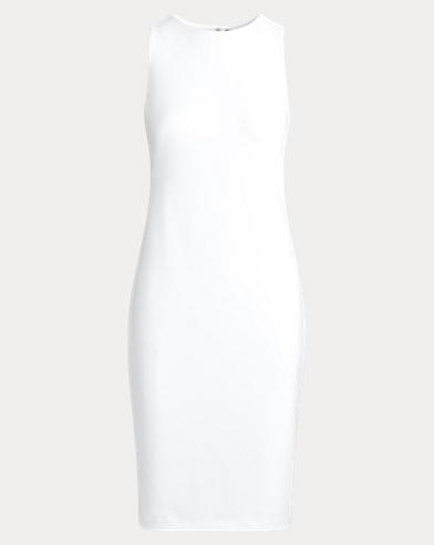 Ärmelloses Jerseykleid