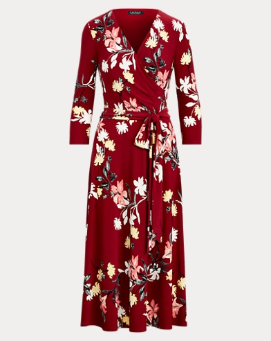 Floral Self-Tie Dress